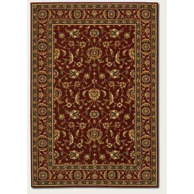 Couristan Royal Luxury 5 x 8 Brentwood Bordeaux 1323/0002