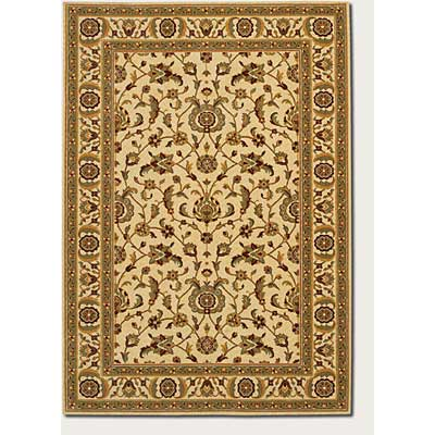 Couristan Royal Luxury 8 x 11 Brentwood Linen Beige 1323/0001