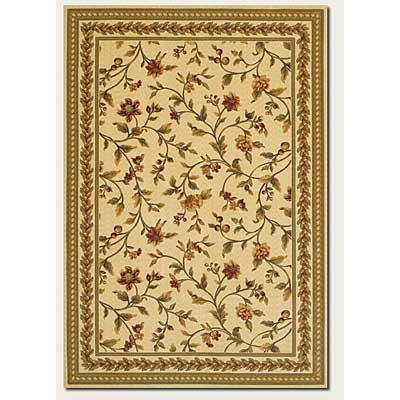 Couristan Royal Luxury 5 x 7 Winslow Linen Beige 1327/0001