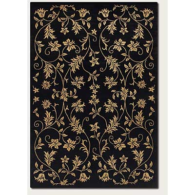 Couristan Silken Treasures 4 x 6 Elysium Midnight 1850/0181