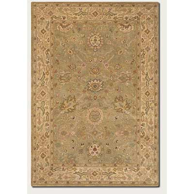 Couristan Souri 8 x 11 Bijar Blossom Light Sage 1501/0501