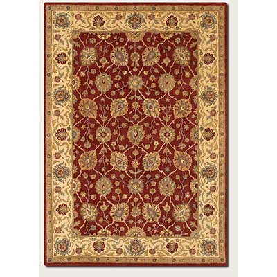 Couristan Souri 4 x 6 Herati Rust Ivory 0034/1111
