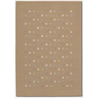 Couristan South Beach 8 x 12 Sahara Tan 1076/0002