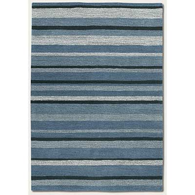 Couristan Super Indo-Colors 4 x 6 Brielle Dusk Blue 2150/8400