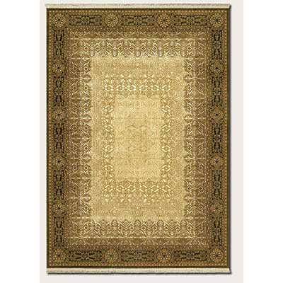 Couristan Taj Mahal 2 x 5 Antique Ardebil Golden Mocha 7314/9895