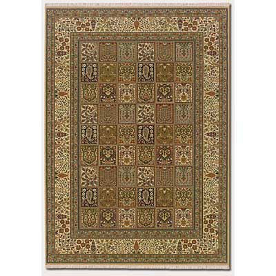 Couristan Taj Mahal 8 x 10 Baktiari Autumn Wheat 7361/9348