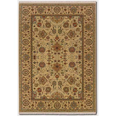 Couristan Taj Mahal 6 x 8 Tabriz Autumn Wheat 7386/9348