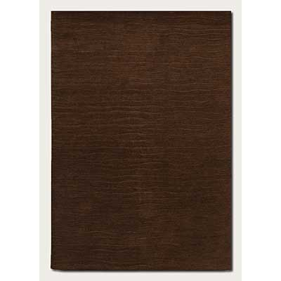 Couristan Vinyasa 8 x 12 Halcyon Chocolate 9666/0411