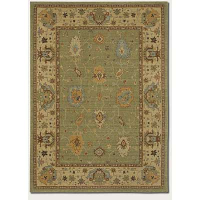 Couristan Woven Treasures 8 x 12 Karabagh Bay Leaf Ivory 0452/0213
