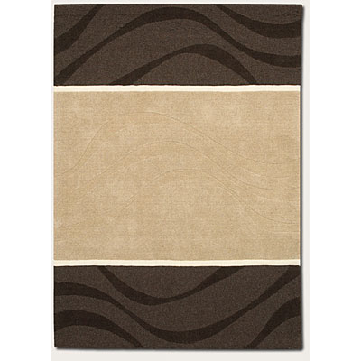 Couristan Zen Garden 8 x 11 Whim Natural Grey 7337/1127