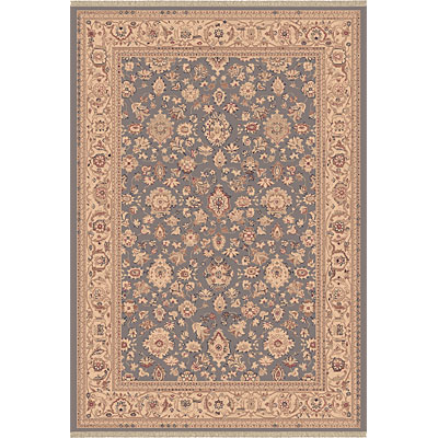 Dynamic Rugs Ancient Garden 7 x 10 Oval Blue 53123-998