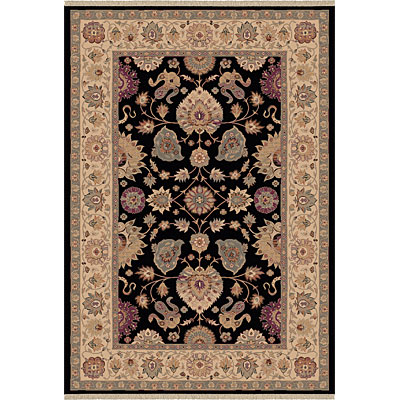 Dynamic Rugs Ancient Garden 8 x 11 Black 5050-090