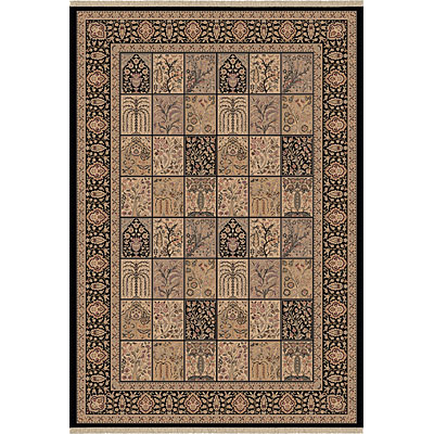 Dynamic Rugs Ancient Garden 8 x 11 Black 6503-091