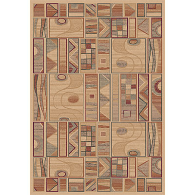 Dynamic Rugs Ancient Garden 8 x 11 Creme 5076-110
