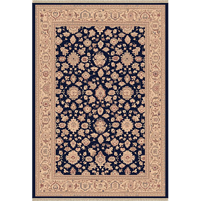 Dynamic Rugs Ancient Garden 8 x 11 Navy 53123-558