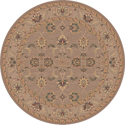 Dynamic Rugs Ancient Garden 8 Round Malt 5007-060