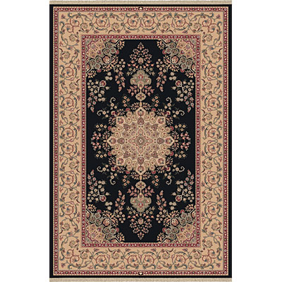 Dynamic Rugs Brilliant 8 x 11 Black 7201-090