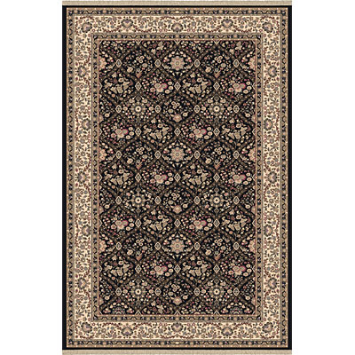 Dynamic Rugs Brilliant 6 x 8 Black 7211-090