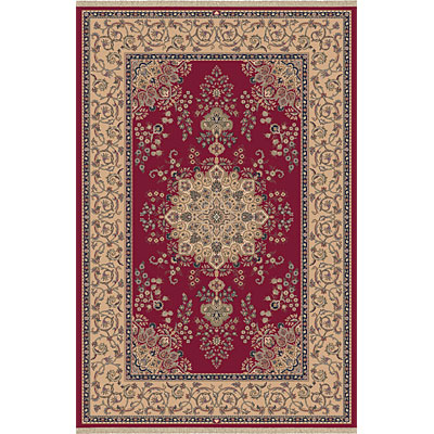 Dynamic Rugs Brilliant 7 x 10 Red 7201-330
