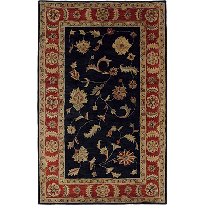 Dynamic Rugs Charisma 4 x 6 Black Red 1401-090