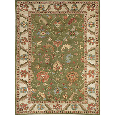 Dynamic Rugs Charisma 4 x 6 Green Ivory 1411-400