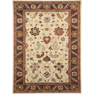 Dynamic Rugs Charisma 9 x 13 Ivory Brown 1411-100