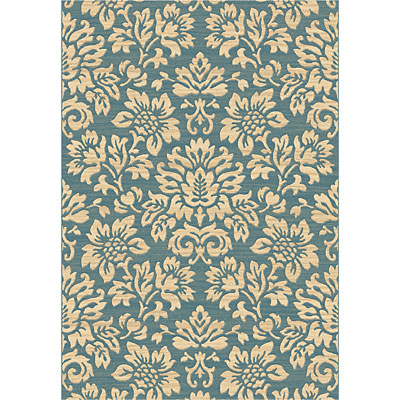 Dynamic Rugs Eclipse 7 x 10 Blue 67013-8666