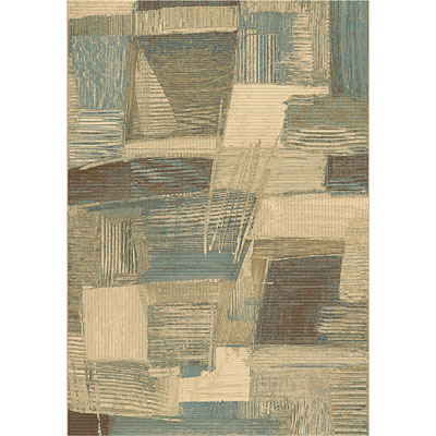 Dynamic Rugs Eclipse 8 x 11 Creme Multi 67014-9696