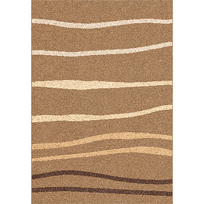 Dynamic Rugs Funky 8 x 11 Mid-Brown 2439-9104