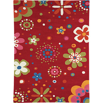 Dynamic Rugs Fantasia 7 x 10 Bright-Red 1705-300