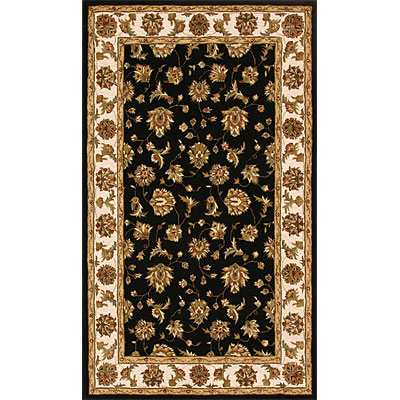 Dynamic Rugs Jewel 5 Round Black Beige 70231-090