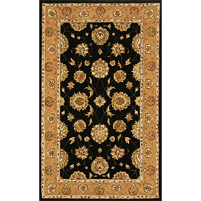 Dynamic Rugs Jewel 5 Round Black Camel 70230-092