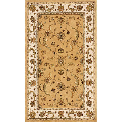 Dynamic Rugs Jewel 5 Round Gold Beige 70113-770