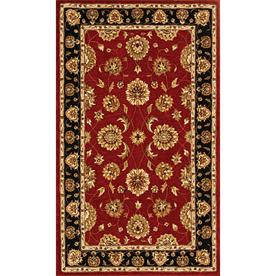Dynamic Rugs Jewel 5 Round Red Beige 70230-339