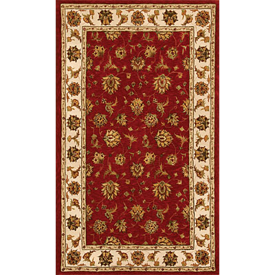 Dynamic Rugs Jewel 5 Round Red Beige 70231-330