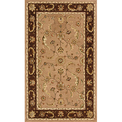 Dynamic Rugs Jewel 5 Round Sand Chocolate 70113-108