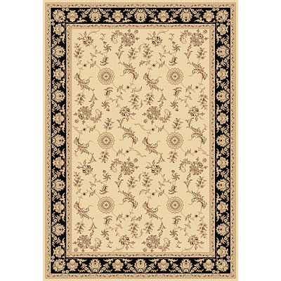 Dynamic Rugs Legacy 5 x 8 Ivory Black 58017-190