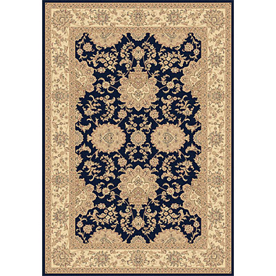 Dynamic Rugs Legacy 5 x 8 Navy 58019-530