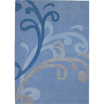 Dynamic Rugs Mystique 8 x 11 Blue 2214-3037
