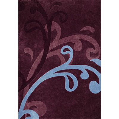Dynamic Rugs Mystique 8 x 11 Wine 2214-5031