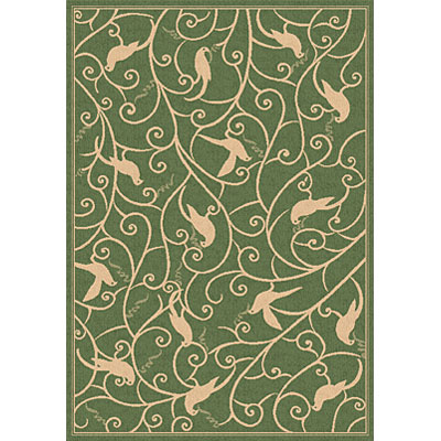 Dynamic Rugs Piazza 5 x 8 Green 2743-1E06