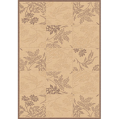 Dynamic Rugs Piazza 5 x 8 Natural-Brown 2542-3001