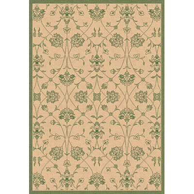 Dynamic Rugs Piazza 5 x 8 Natural-Green 2744-1E01