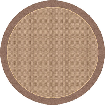 Dynamic Rugs Piazza 5 Round Brown 2746-3009
