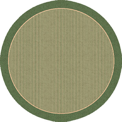 Dynamic Rugs Piazza 5 Round Green 2746-1E06