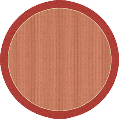 Dynamic Rugs Piazza 5 Round Red 2746-3707