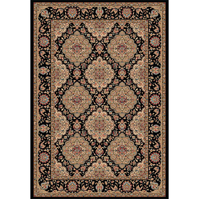 Dynamic Rugs Radiance 9 x 13 Black 43004-3232