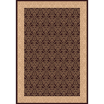 Dynamic Rugs Radiance 4 x 6 Chocolate 43014-3464