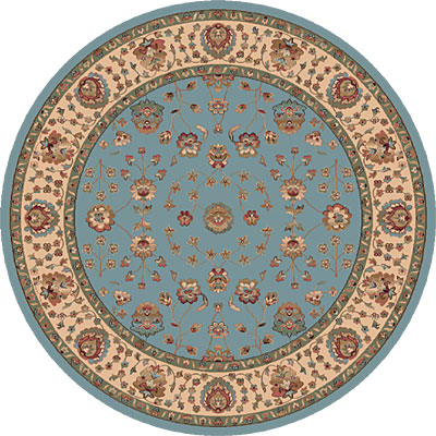 Dynamic Rugs Radiance 5 Round Blue 43002-5464