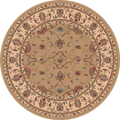 Dynamic Rugs Radiance 5 Round Champagne 43007-2464